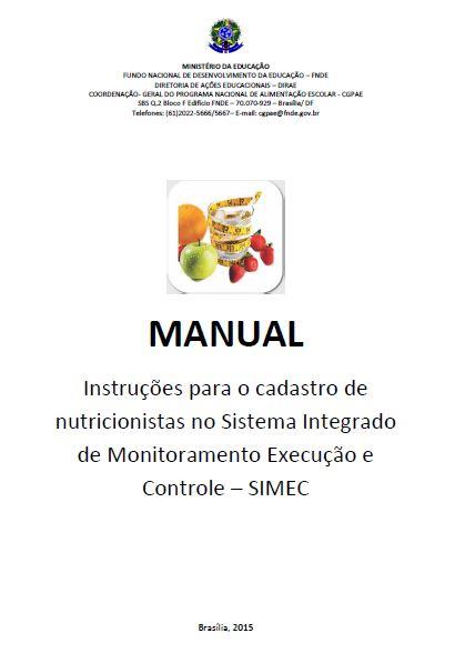 6.0 IMAGEM Cadastro Nutricionistas SIMEC